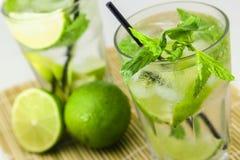 Mojito cocktail Royalty-vrije Stock Afbeeldingen