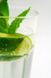 Mojito Cocktail. A glass of mojito cocktail royalty free stock images