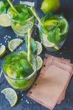 Mojito cocktail Fotografia Stock Libera da Diritti