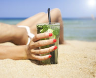 Free Mojito Cocktail Stock Image - 58479531