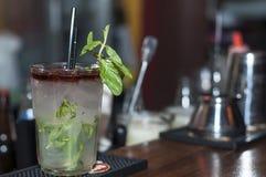 Mojito cocktail Fotos de archivo