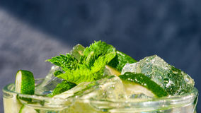 Mojito cocktail Imagen de archivo libre de regalías