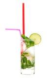 Mojito cocktail. In glass studio shot Stock Image