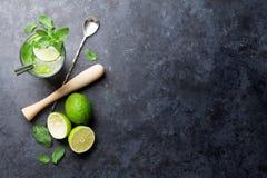 Mojito cocktail Fotografia de Stock