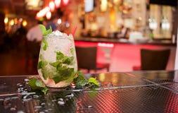 Mojito cocktail on bar Stock Photo