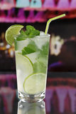 Mojito cocktail in a bar or party Royalty Free Stock Photo