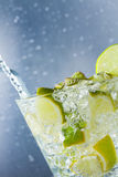 Mojito cocktail at the club Royalty Free Stock Image