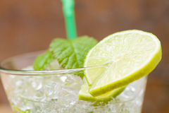 Mojito cocktail at the club Royalty Free Stock Photos