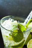 Mojito cocktail at the club Stock Photo