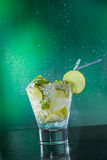 Mojito cocktail at the club Stock Photography