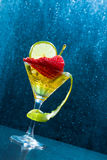 Mojito cocktail at the club Royalty Free Stock Photography