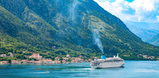 Kotor Old Town Montenegro. Stock Images