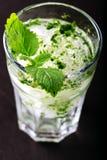 Mojito cocktail on a dark Stock Photo