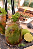 Mojito cocktail. Stock Image