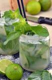 Mojito cocktail. Stock Photo