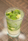Mojito cocktail fresh drink for drunk Royalty Free Stock Images
