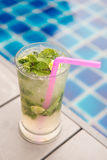 Mojito cocktail fresh drink for drunk Royalty Free Stock Image