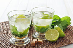 Mojito cocktail Royalty Free Stock Photo