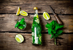 Mojito cocktail. Stock Photos