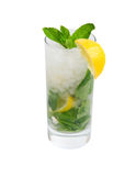 Mojito cocktail.isolated Royalty Free Stock Photography