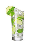 Mojito cocktail isolated Royalty Free Stock Photos