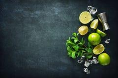 Free Mojito Cocktail Making Royalty Free Stock Photo - 110146255