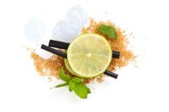 Mojito-Cocktailbestandteile lizenzfreies stockbild