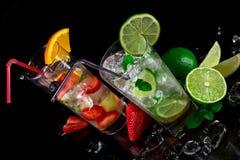 Mojito cocktails Royalty Free Stock Photo