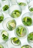 Mojito Cocktails Lizenzfreie Stockbilder