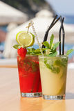 Mojito cocktails Stock Photo