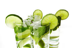 Mojito cocktails Royalty Free Stock Photos