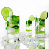 Mojito cocktails Royalty Free Stock Images