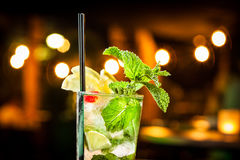 Mojito. Cold mojito ready to drink royalty free stock images