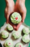 Mojito cupcakes Stock Image