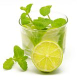 Mojito decorated stock photos