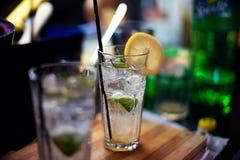 Mojito drink Arkivfoto