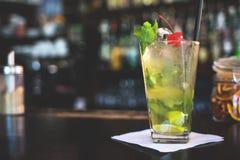 Mojito drink fotografering för bildbyråer