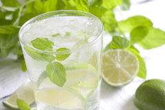 Mojito drink cocktail Royalty Free Stock Images