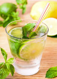 Mojito drink cocktail on the table Stock Images