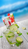 Mojito drinks Royalty Free Stock Photos