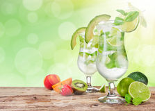 Mojito drinks Royalty Free Stock Photography