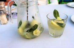 Mojito is een klassieke drank stock foto's