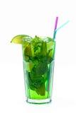 Mojito in einem Glas Stockbild