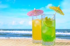 Mojito en cocktails Daiquiri Stock Foto