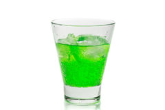 Mojito in a glass with ice Royalty Free Stock Image