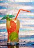 Mojito grapefruit  cocktai Stock Photos