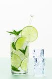 Mojito With Ice Royalty Free Stock Images