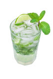 Mojito isolated on a white. Background Stock Image