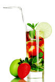 Mojito isolated on white Stock Photography
