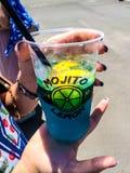 Mojito Lemon cocktail Stock Image